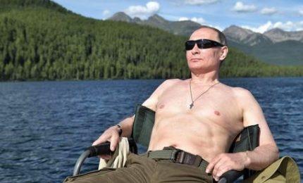 Putin ama coltivare la sua immagine di uomo d'azione