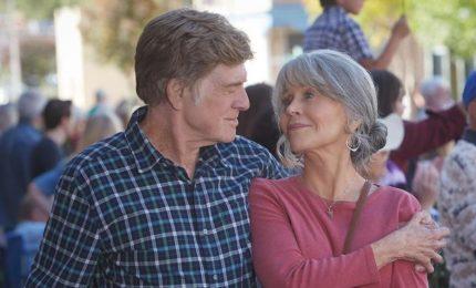Robert Redford e Jane Fonda di nuovo insieme sul set