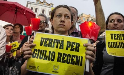"Pressing di Amnesty International su Gentiloni: ""Novità su Regeni?"""