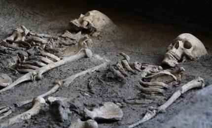 Archeologia, si svelano i segreti degli scheletri di Oplontis