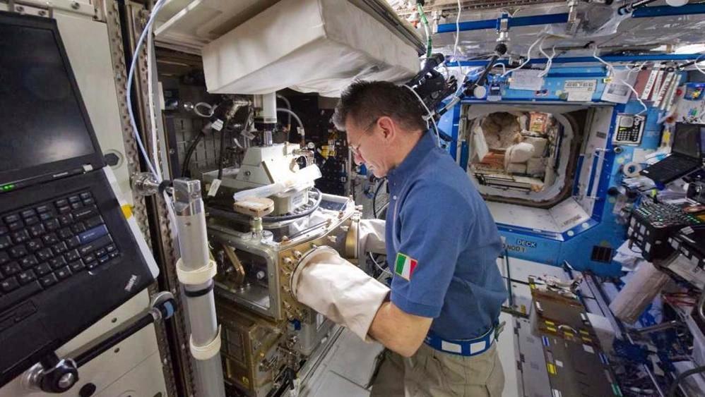 Sulla ISS successo per esperimento a regola d'ARTE per Nespoli
