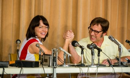 "Femminismo e tennis, Emma Stone in ""Battle of the Sexes"""