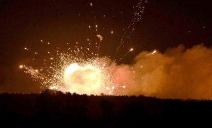 Ucraina: esplode deposito munizioni, 30mila evacuati