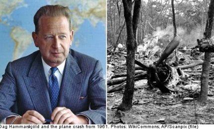 La tragica morte di Dag Hammarskjold, l'aereo del segretario Onu è stato abbattuto da jet francese