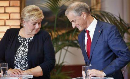 La Norvegia oggi al voto, testa a testa conservatori e laburisti