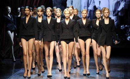 Giganti alta moda francese dicono no a modelle supermagre, stop a taglia 36 e 46