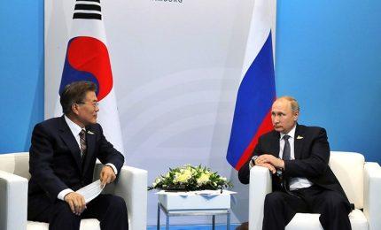 La mossa di Putin in crisi nordcoreana: rilancia progetto gasdotto, no a sanzioni