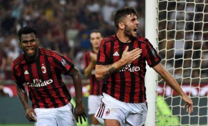 Cutrone salva il Milan, Atalanta pari d'oro a Lione