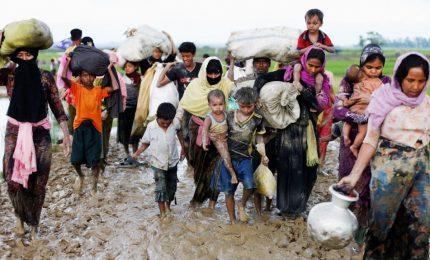 Oltre 400.000 i rifugiati Rohingya scappati in Bangladeh