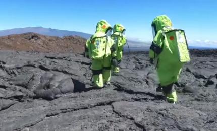 Simulata su un vulcano delle Hawaii missione su Marte