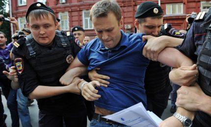 Navalny su Twitter: sono stato arrestato a Mosca