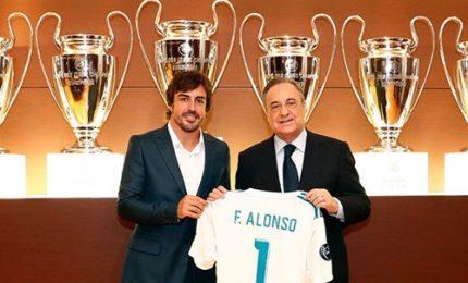 Fernando Alonso socio onorario del Real Madrid