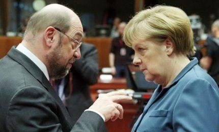 Sì dalla Spd alla grande coalizione con Cdu di Merkel
