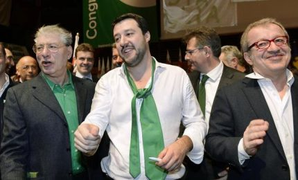 Salvini annuncia mini-Aventino, frizioni con Maroni su Bossi