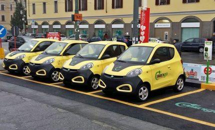 Meno auto, più car sharing