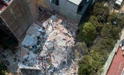 Sisma in Messico, la devastazione ripresa da un drone