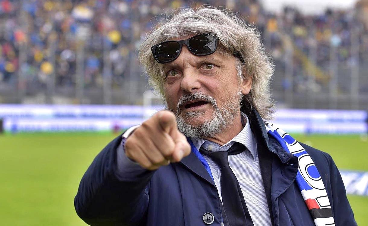 Sampdoria, Ferrero attacca il Milan: