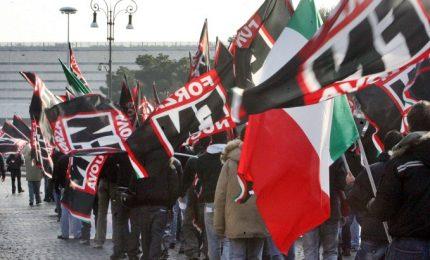 Bufera per 'marcia su Roma'. Pd insorge: sciogliere Forza Nuova