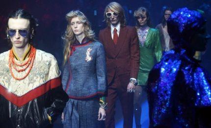 Moda Milano, la collezione scintillante di Gucci