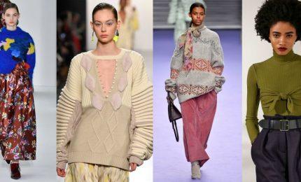 Smoking, maglioni e velluto, ecco la moda autunno-inverno
