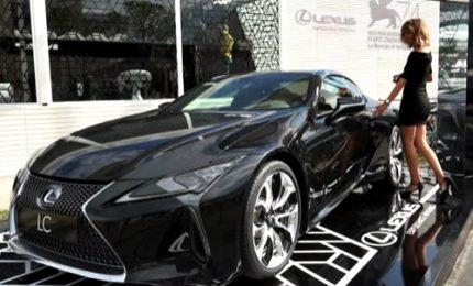 Alla Mostra di Venezia la Lexus Lounge ospita star del cinema