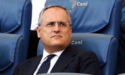"""Lotito a Tavecchio: """"Sei il colera del calcio"""""""
