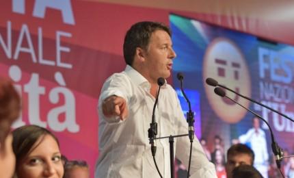 Renzi: sfida tra noi e M5s, il nostro avversario è l'incompetenza