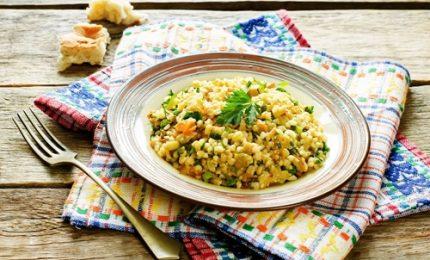 Dalla tradizione turca il bulgur con verdure
