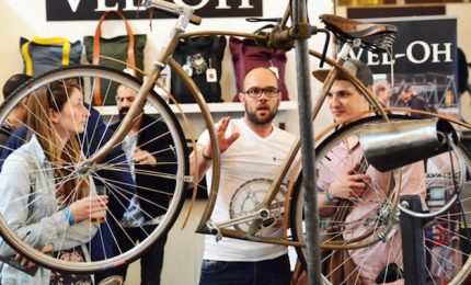 """Al via il primo """"Spin Cycling Festival"""": bici, sicurezza e tech"""