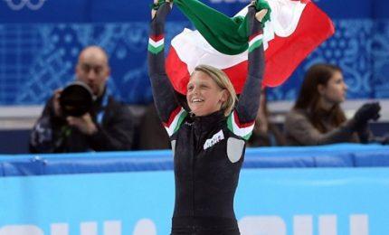 Arianna Fontana portabandiera dell'Italia a PyeongChang 2018