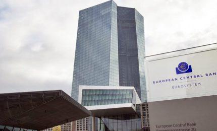 Bce taglia stima inflazione 2019 a 1,6%, conferma 2020 a 1,7%