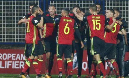 Belgio- Bosnia 4-3, certezza Italia ai playoff per la qualificazione