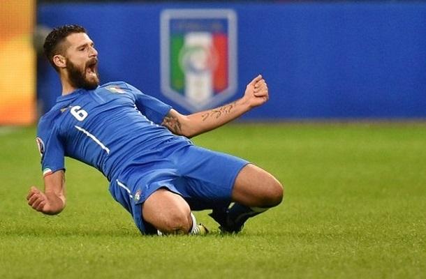 """Candreva decide la sfida con l`Albania, Italia ai playoff. Ventura: """"Raggiunto obiettivo"""""""