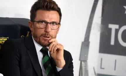 "Di Francesco dopo ko Karsdorp: ""Ho fiducia nello staff"""