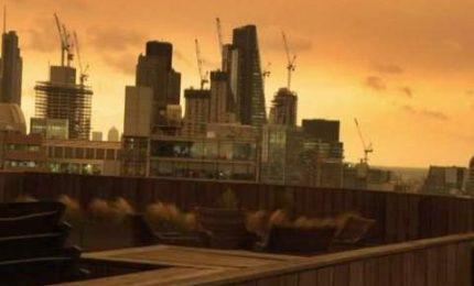 Effetto Ophelia, cieli apocalittici su Londra
