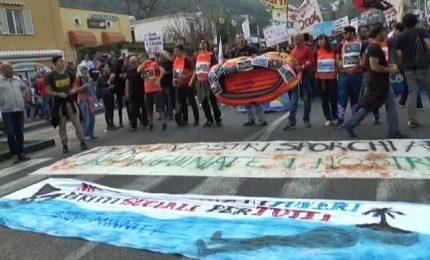 A Ischia al via il G7 dei ministri dell'Interno tra le proteste