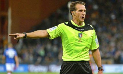 Banti per Milan-Udinese, Cagliari-Juve a Giacomelli
