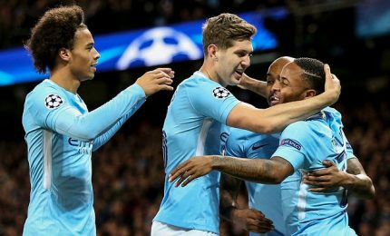 Napoli zoppica in Europa, Manchester City  vince 2-1