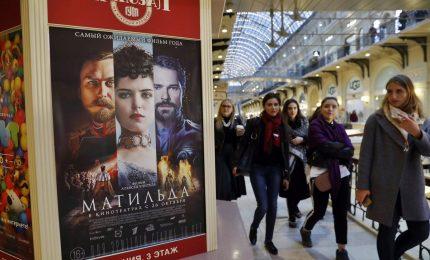 """Mosca, 7 persone arrestate alla prima del film """"Matilda"""""""