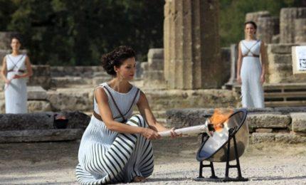 A Olimpia le prove generali per la cerimonia della torcia