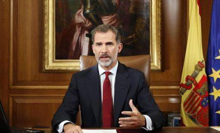 Spagna, Re Filipe VI: slealtà inaccettabile da Catalogna