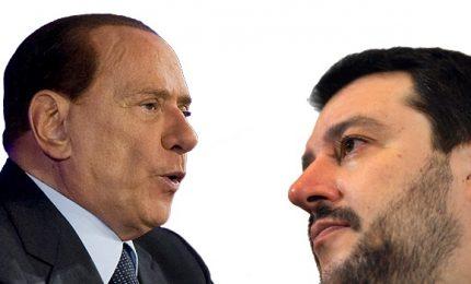 """Salvini e Berlusconi a Catania. Si lavora a """"photo opportunity"""""""