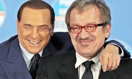 Maroni chiama Berlusconi in campo per referendum su autonomia