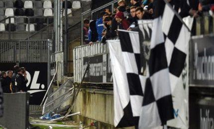 Incidente allo stadio durante Amiens-Lille: 26 feriti, 4 gravi