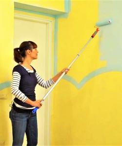 Come dipingere una parete di casa