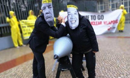 Premio Nobel Pace, il manifesto della campagna Ican