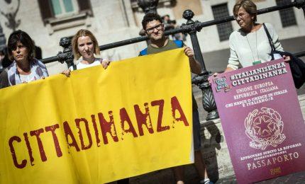 In piazza per Ius soli, manifestanti dalla Boldrini