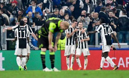 Pjanic-Mandzukic, la Juve piega in rimonta lo Sporting