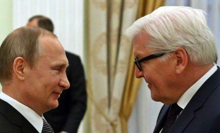 Steinmeier da Putin, a un mese da nomina Schroeder al vertice della Rosneft