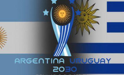 Calcio, candidatura congiunta Argentina-Uruguay-Paraguay